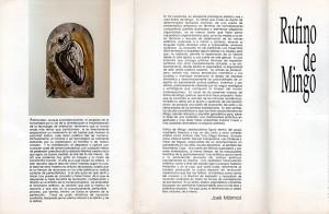 Catalogo Rufino de Mingo