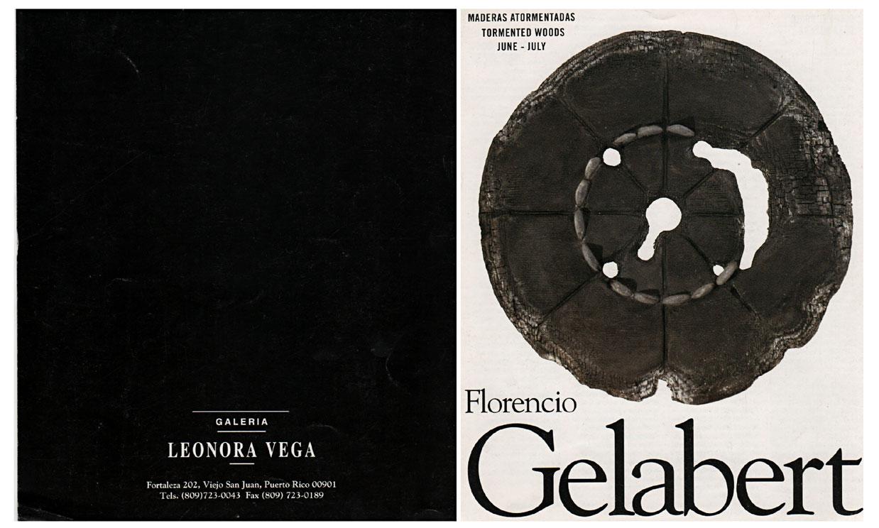 Maderas Atormentadas de Florencio Gelabert