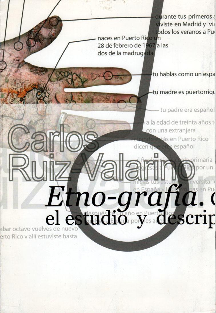Catalogo Etno-Grafía de Carlos Ruiz Valarino