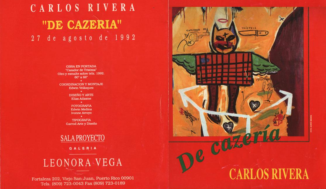 Catálogo de Carlos Rivera Pintura / catálogos de arte una colección