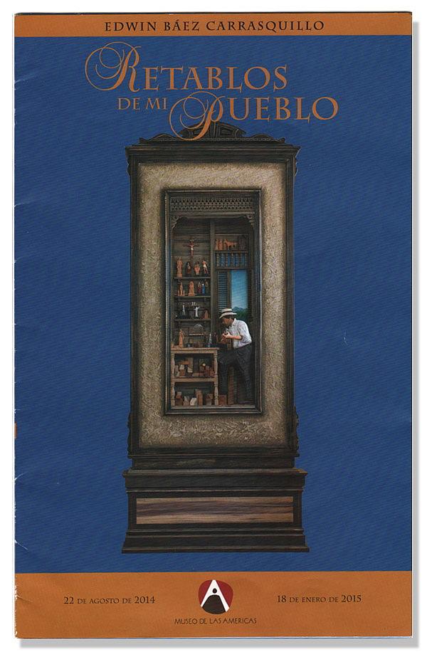 Catálogo de edwin baez retablos de mi pueblo / catálogos de arte una colección