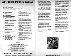 Del cielo a la Tierra | Arnaldo Roche Rabell | 1989