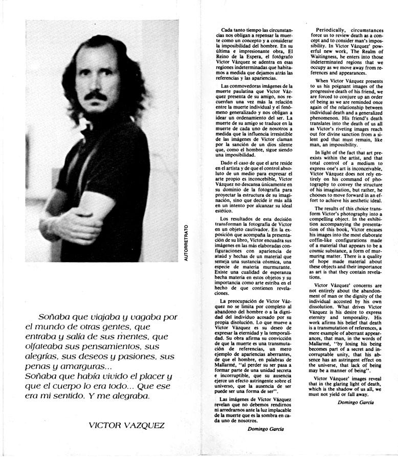 El Reino de la Espera | Víctor Vázquez | 1991