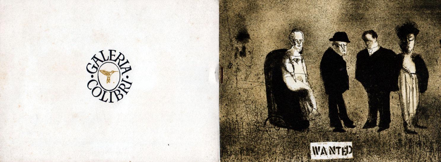 Wanted | José Luis Cuevas | Galería Colibri | 1968