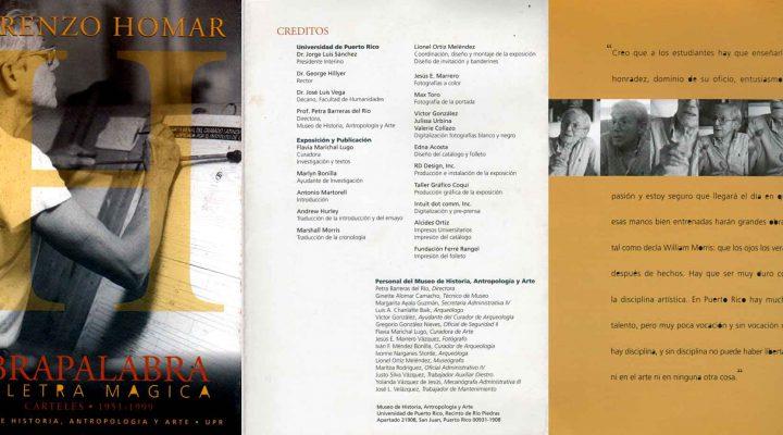 Lorenzo Homar   Abrapalabra: La letra Magica   Carteles