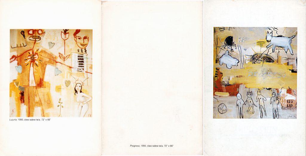 Enoc Pérez | 1990 | Pintura | Galería Zeitgeist