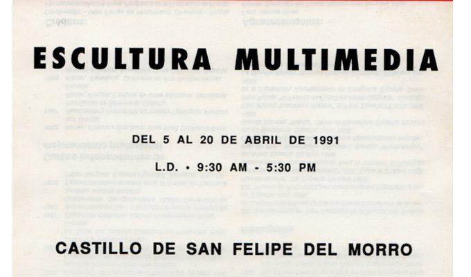 Okar | Escultura Multimedia | 1991 | Lourdes Ramos