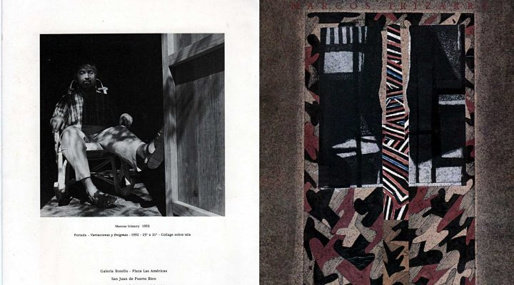 Marcos Irizarry   Variaciones y enigmas   Galería Botello   1993