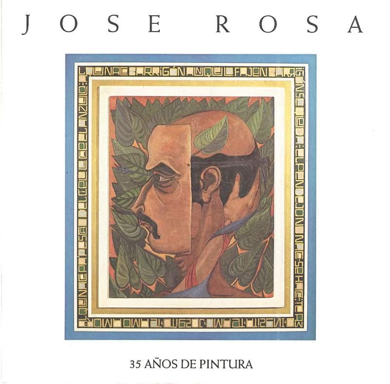 Jose Rosa | 35 años de Pintura | Galería Sagrado Corazón | 1995