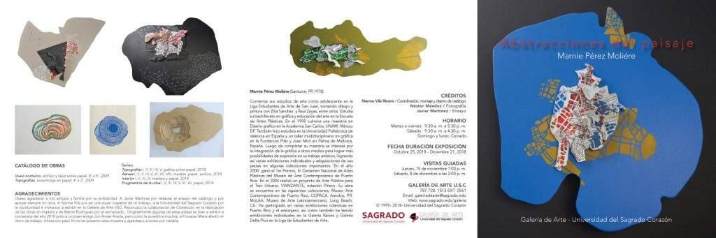 Marnie Pérez : Abstracciones del paisaje | Catalogos una coleccion