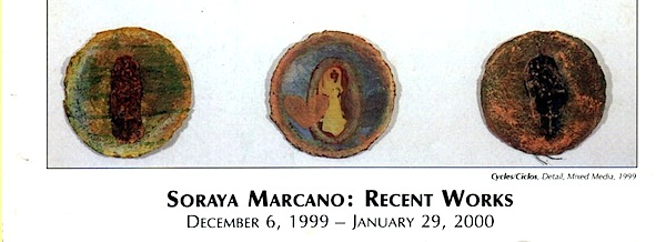 Soraya Marcano | Recent Works | 1999