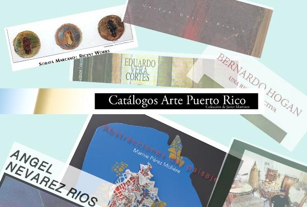 Catálogos Arte Puerto Rico